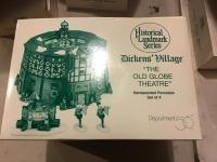 "Historical Landmark Series Dicken's Village ""The Old Globe Theatre"