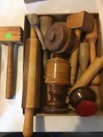 Wooden Kitchen Utensils and rolling pin