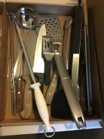 Flat of Kitchen Utensils