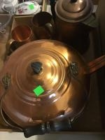 Assorted Copper Plated items/ home decor