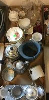 Assorted Kitchen Supplies, and cups, mugs etc