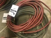 3- 1/4 inch air hoses
