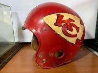 Kansas City Chiefs helmet.