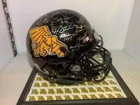 Missouri Western Griffen's signed helmet w/case