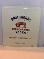 Smithworks Vodka metal sign