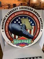 Boulevard Beer metal sign