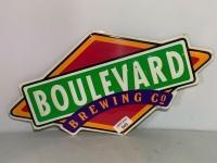 Boulevard Brewing Co. metal sign