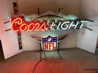Coors Light NFL neon sign
