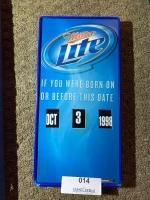 Miller Lite Legal Drinking Age Calendar