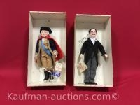 2 Effanbee Dolls / The presidents and Groucho Marx