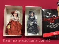 2 Effanbee Dolls / 75th anniversary diamond Jubilee and grandes Dames