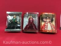 2 special edition & 2004 Holiday Barbie dolls