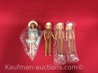 3 McDonald's & 1 Little Debbie Dolls