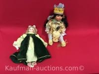 Goldenvale Collection Native American & Limited Edition Porcelain Dolls