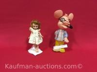 Old Betsey McCall & Topo GiGio (ed Sullivan show) Dolls