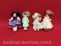 4 misc Dolls / 2 are Porcelain