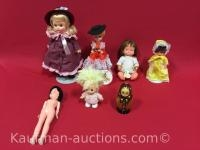 Misc Dolls / includes Tiny secret bank musical doll