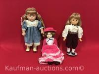 1987 Pat Secrist & 2 other Dolls