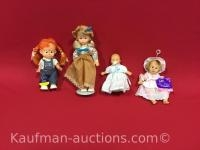 1965 Dankin, bean bag kids, & 2 other Dolls