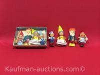 2 Sets The Eugene Gnome Family Dolls