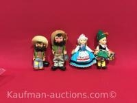 4 misc Dolls