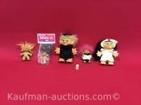 6 misc Troll Dolls