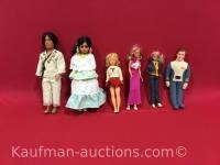 1982 Blue Bell & 5 other Dolls