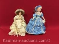 Russ & Knowles charm of southern belle Porcelain Dolls