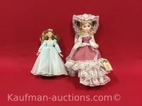 Bradley doll & smaller Porcelain Doll