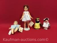 1969, 1971, & 2 1983 Ideal Dolls