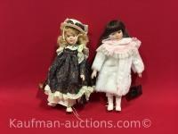 2 House Of Loyd Porcelain Dolls