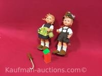 2 M.J. Hummel Dolls
