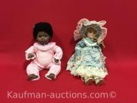 1991 Wakee & Delton Porcelain Dolls