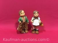 2 vintage M.J. Hummel Dolls