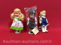 Goldilocks talking, hopechest heirloom & 1st Edition Crown Collection Dolls