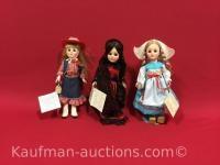 3 1975 Effanbee Dolls/ Holland, Spain, United States