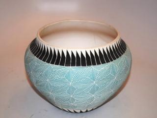 Navajo pottery incense burner