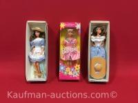 2 Little Debbie & 1 Russell Stover Barbie dolls