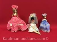 Elegant dolls, Miss American beauty & 1 other dolls