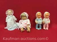 2 M.J. Hummel, 1 porcelain & 1 other dolls