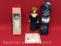 Princess Diana porcelain & 1 other porcelain doll