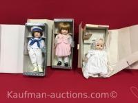 3 Russ Porcelain dolls
