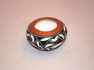 """Miniature Navajo wedding pitcher - 4"""" tall"""
