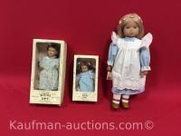 3 Heidi Ott dolls