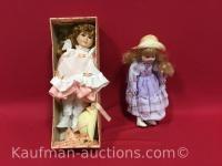 Schmid doll house porcelain & other porcelain doll