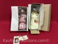 2 Ashton Drake porcelain dolls / her grandmother dress & meg
