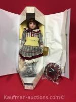 Franklin Heirloom porcelain doll