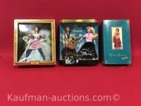 3 barbie dolls/ Barbie loves Elvis, Victorian elegance