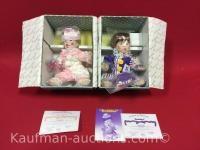 2 Knowles porcelain dolls/ sparkles & bubbles