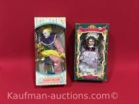 Hobo & Little Bo Beep porcelain dolls